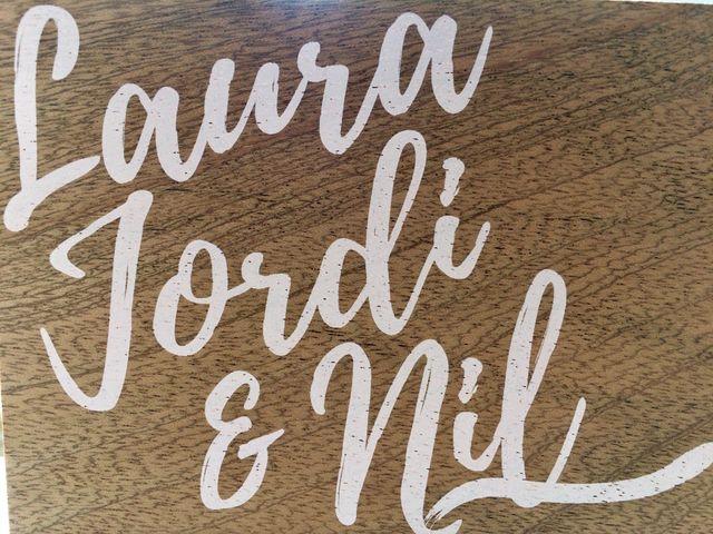 La boda de Laura y Jordi en Sant Marti De Tous, Barcelona 1