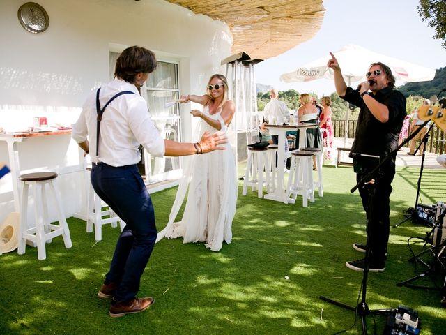 La boda de Ricardo  y Maria  en Benaocaz, Cádiz 1