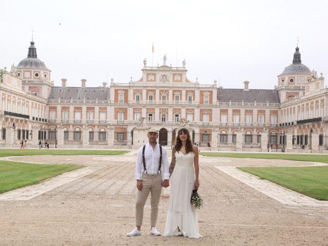 La boda de Alfonso y Paula en Aranjuez, Madrid 1