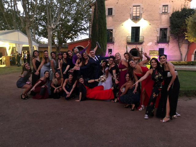 La boda de Aitana y Artur en Riudellots De La Selva, Girona 3