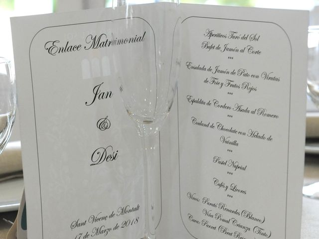 La boda de Desi y Jan en Sant Vicenç De Montalt, Barcelona 14