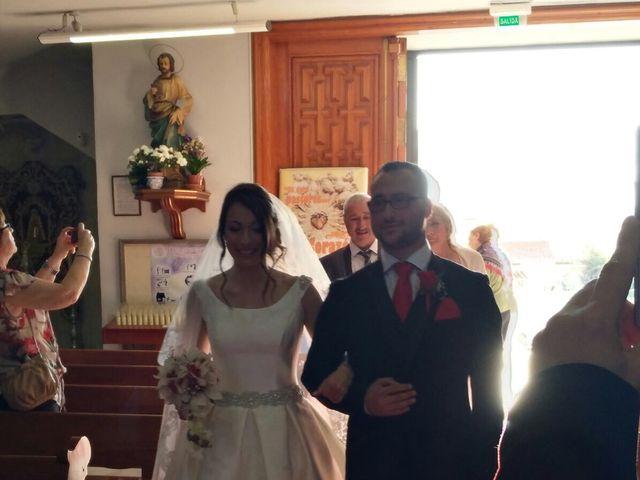 La boda de Rubén  y Diana en Benidorm, Alicante 1