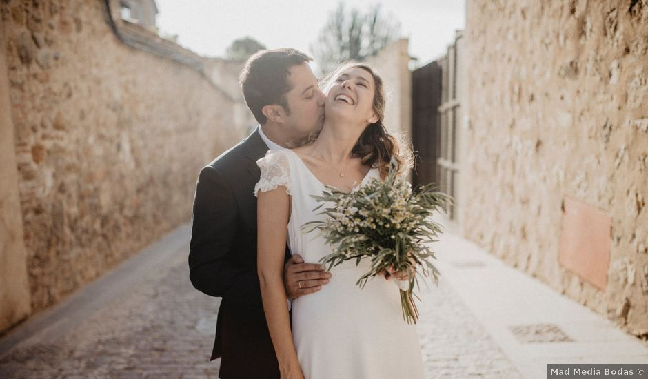 La boda de Manuel y Berta en Segovia, Segovia