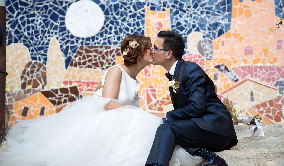La boda de Laura y Jordi en Sant Marti De Tous, Barcelona