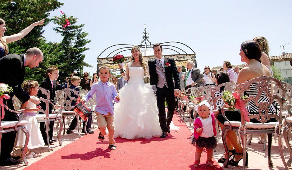La boda de Angel y Gemma en Solius, Girona