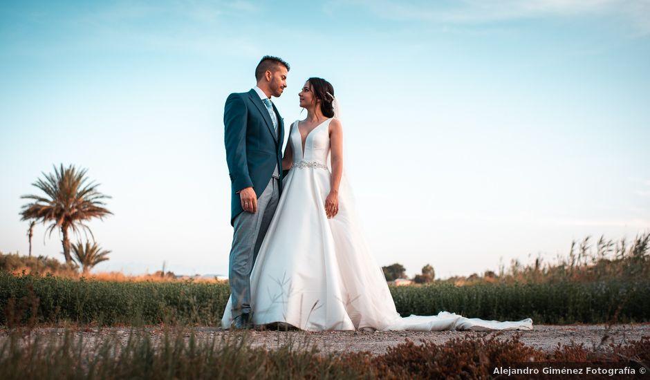 La boda de Eduardo y Laura en Dolores, Alicante