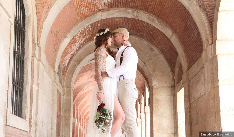 La boda de Alfonso y Paula en Aranjuez, Madrid