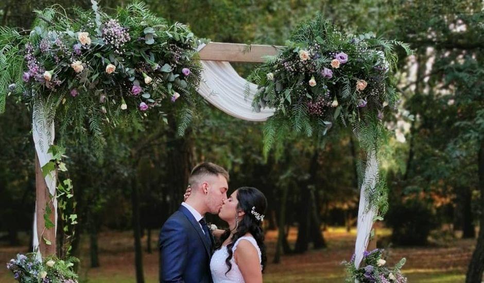 La boda de Aitana y Artur en Riudellots De La Selva, Girona