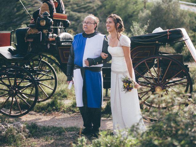 La boda de Xavier y Cristina en Olerdola, Barcelona 1