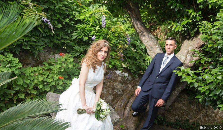 La boda de Adrián y Rebeca en Culleredo, A Coruña