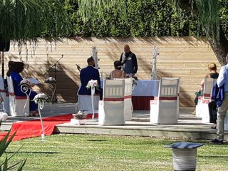 La boda de Noe y Dani