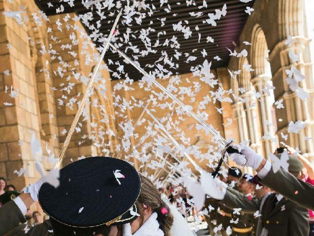 La boda de Tony y Rosa  en Ávila, Ávila 1
