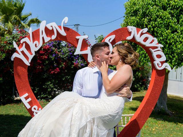 La boda de Felipe y Cristina en Alhaurin De La Torre, Málaga 14