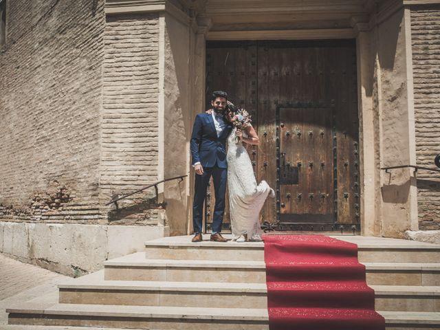 La boda de Lucho y Marta en Fuentes De Ebro, Zaragoza 22
