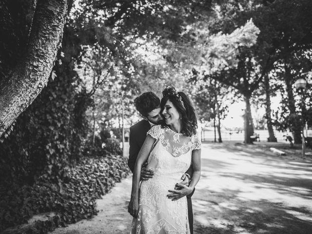 La boda de Lucho y Marta en Fuentes De Ebro, Zaragoza 36