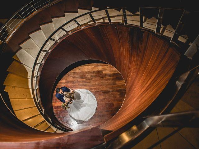 La boda de Alvaro y Hélène