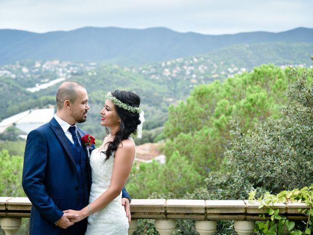 La boda de Andrés y Alejandra en Sant Cebria De Vallalta, Barcelona 7