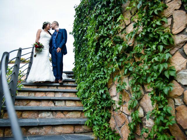 La boda de Andrés y Alejandra en Sant Cebria De Vallalta, Barcelona 8
