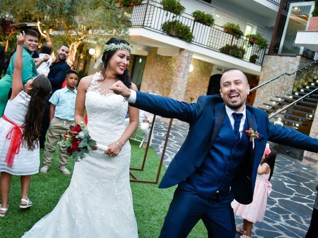 La boda de Andrés y Alejandra en Sant Cebria De Vallalta, Barcelona 11