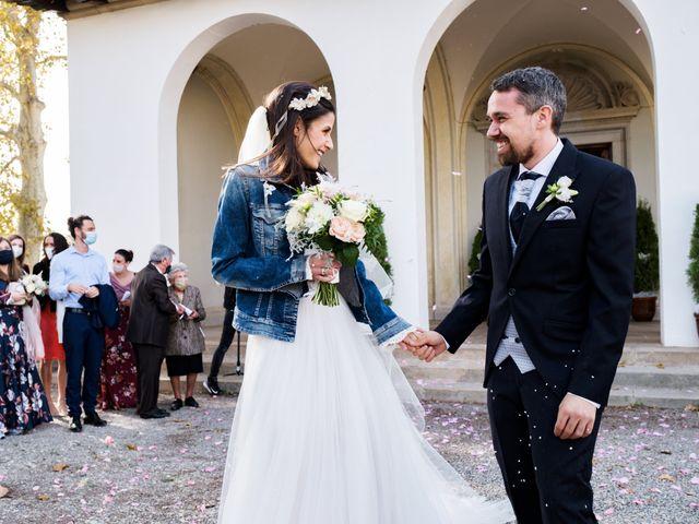 La boda de Josep y Adriana en El Castell Del Remei, Lleida 38