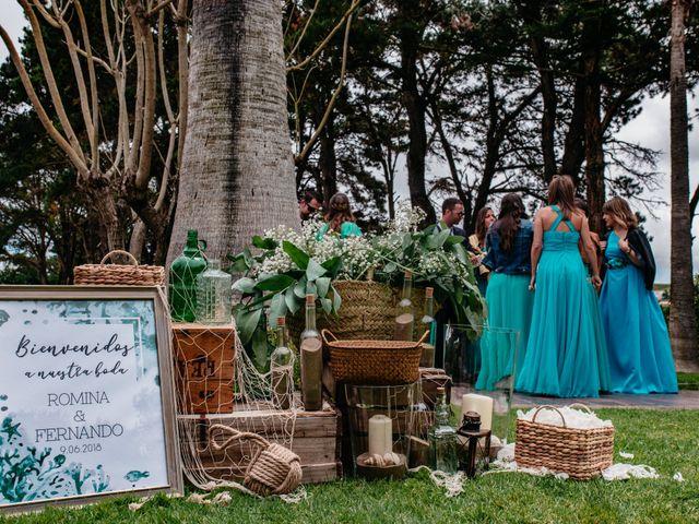 La boda de Fernando y Romina en Arucas, Las Palmas 30