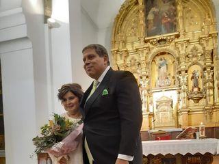 La boda de Luis Miguel y Laura Cristina