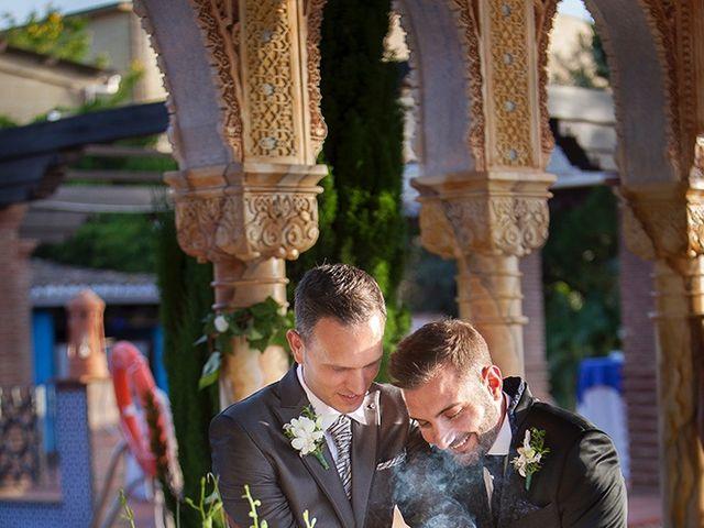La boda de Alejandro y Juan Enrique en Alhaurin De La Torre, Málaga 25