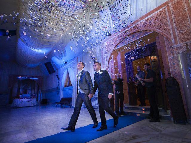 La boda de Alejandro y Juan Enrique en Alhaurin De La Torre, Málaga 26