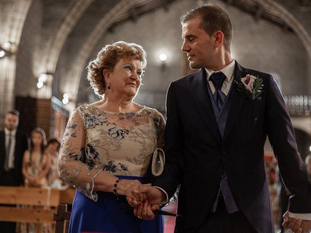 La boda de Alvaro y Zaida en Maqueda, Toledo 20