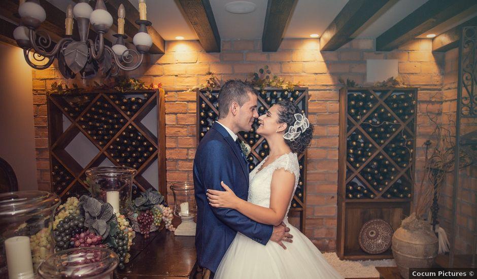 La boda de Alvaro y Zaida en Maqueda, Toledo