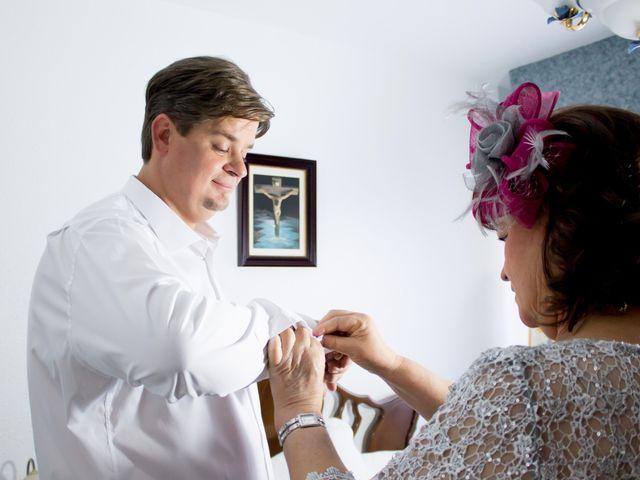 La boda de Sergio y Leticia en Venta Del Pobre, Almería 11