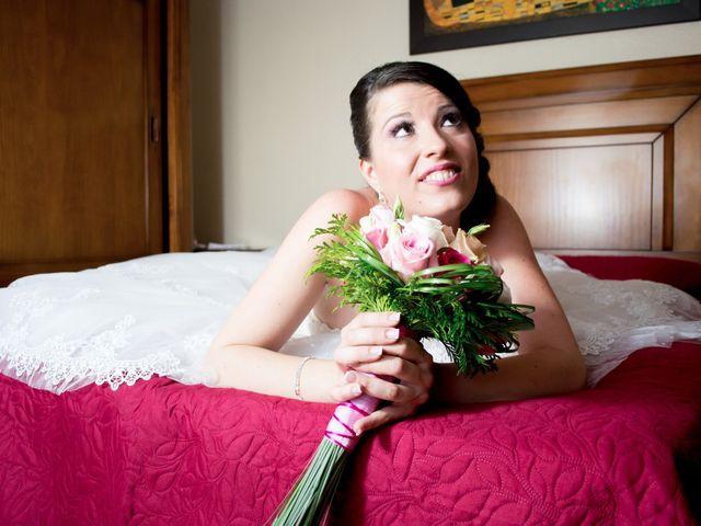 La boda de Sergio y Leticia en Venta Del Pobre, Almería 16
