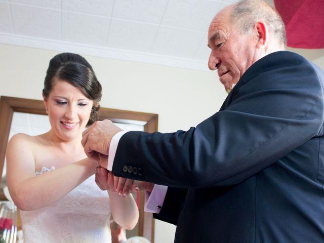 La boda de Sergio y Leticia en Venta Del Pobre, Almería 18
