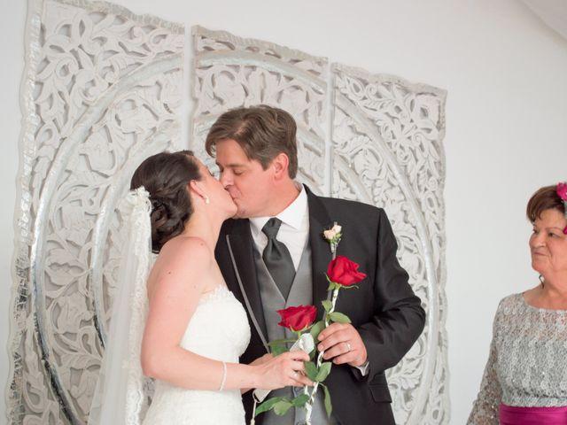 La boda de Sergio y Leticia en Venta Del Pobre, Almería 22