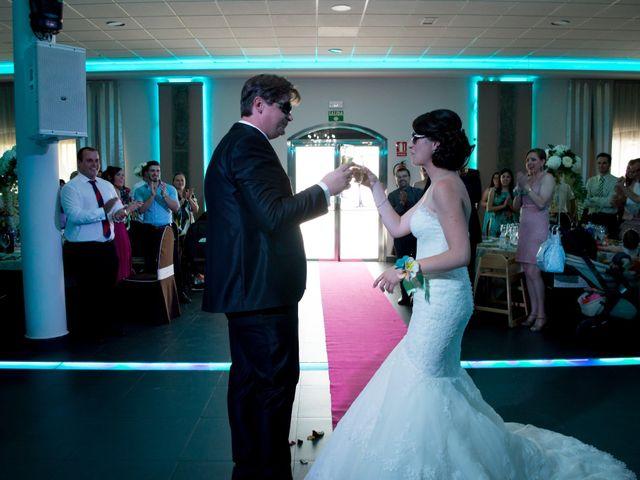 La boda de Sergio y Leticia en Venta Del Pobre, Almería 24