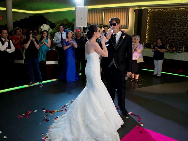 La boda de Sergio y Leticia en Venta Del Pobre, Almería 26