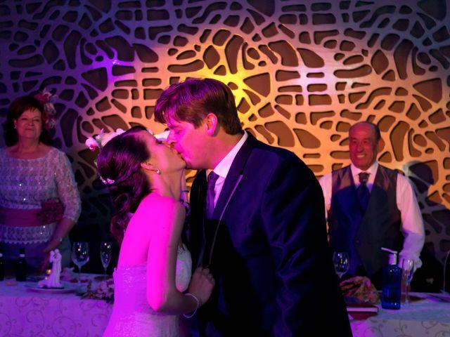 La boda de Sergio y Leticia en Venta Del Pobre, Almería 28