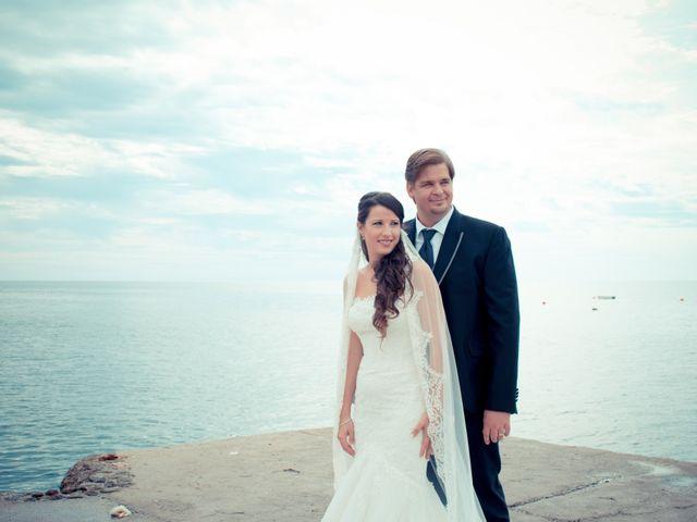 La boda de Sergio y Leticia en Venta Del Pobre, Almería 29