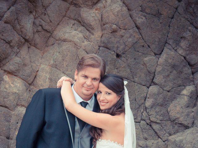 La boda de Sergio y Leticia en Venta Del Pobre, Almería 33