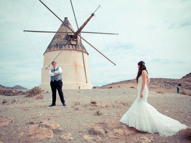 La boda de Sergio y Leticia en Venta Del Pobre, Almería 35