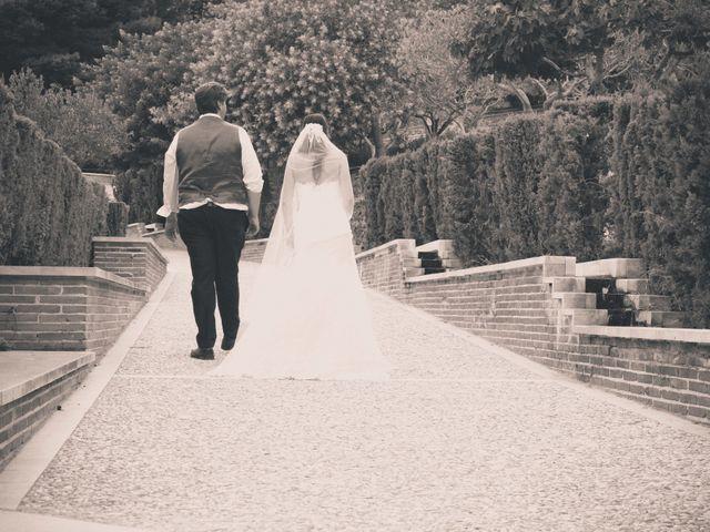 La boda de Sergio y Leticia en Venta Del Pobre, Almería 41