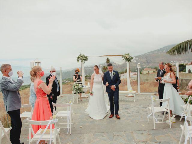 La boda de Quique y Vane en Puerto De La Cruz, Santa Cruz de Tenerife 19