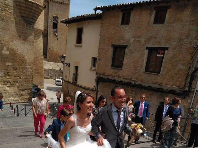 La boda de José Miguel y Olga en Olite, Navarra 4