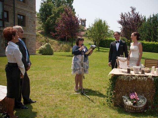 La boda de Fernando y Natalia en Argomaniz, Álava 20