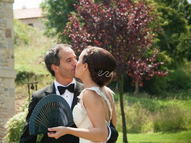 La boda de Fernando y Natalia en Argomaniz, Álava 35