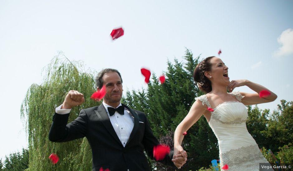 La boda de Fernando y Natalia en Argomaniz, Álava