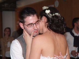 La boda de Enric  y Genma