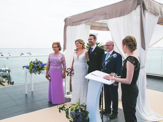 La boda de Víctor y Estefania en Santiago De La Ribera, Murcia 41