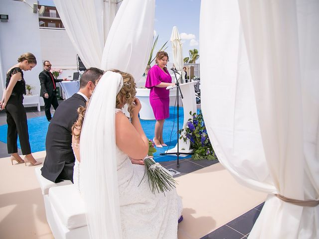 La boda de Víctor y Estefania en Santiago De La Ribera, Murcia 45