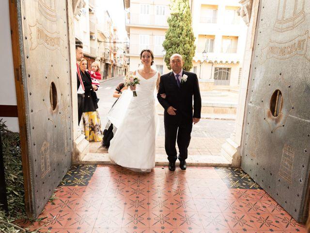 La boda de Ricardo y Marta en Alzira, Valencia 1